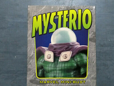 Randy Bowen Mini Bust Statue Spider-man Mysterio 3015 of 4000