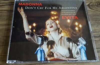Madonna - Don't Cry For Me Argentina - CD Single