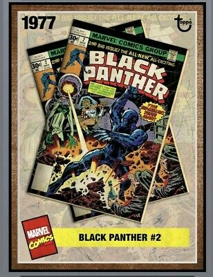 TOPPS ARCHIVES BLACK PANTHER #2 Topps Marvel Collect Digital Card