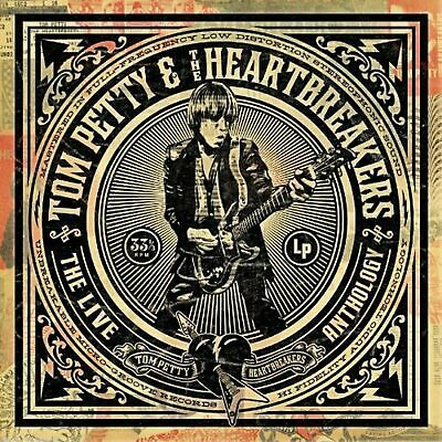TOM PETTY & THE HEARTBREAKERS - The Live Anthology - 4 CD Box Set - BRAND NEW
