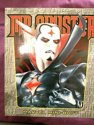 Randy Bowen Mini Bust Statue X-men Mr Mister Sinister 1039 of 6000
