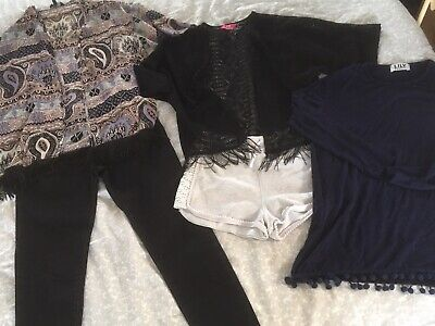 Girls Clothing Bundle 11 Years, Jeans, Fancy Tops, Shorts