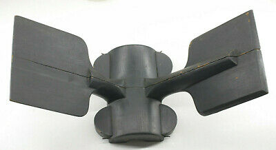 """Lamson Industrial Foundry Wood ~13"""" Propeller Machine Parts Mold Pattern M91"""