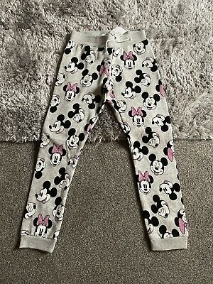 Girls BNWT H&M 9-10 Years Disney Minnie Mouse Tracksuit Bottoms Trousers Joggers