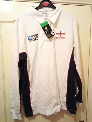 Rugby World Cup  2011 England Shirt Size XL (Free P&P)Ideal Gift Stocking Filler
