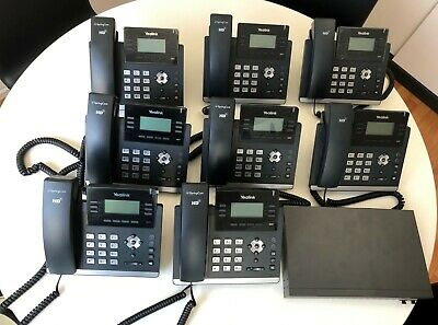 Business Telephone System - Incl. Eight (8) handsets & Switch