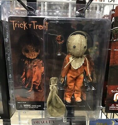 "SAM Neca CLOTHED TRICK R' TREAT Horror 8"" Inch Scale 2019 FIGURE IN STOCK! New!"