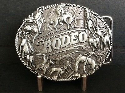 New Western Cowboy Rodeo Belt Buckle