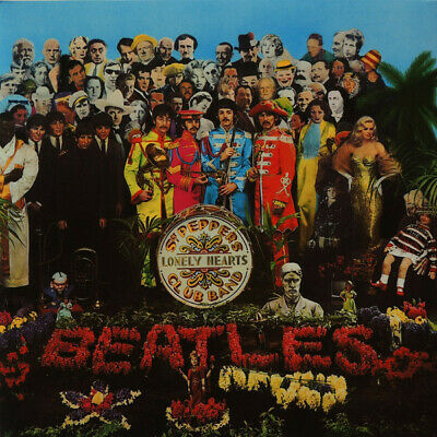 BEATLES Sgt Peppers Lonely Hearts Club Band vinyl LP gatefold Record SEALED/BRAN