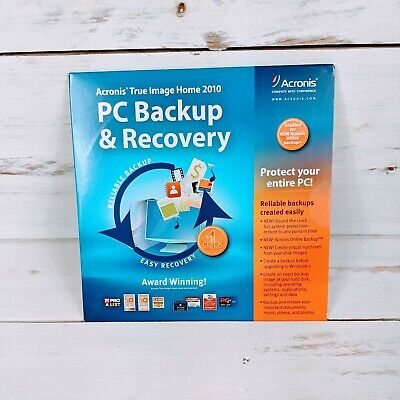 Acronis True Image Home 2010 PC Backup & Recovery Software