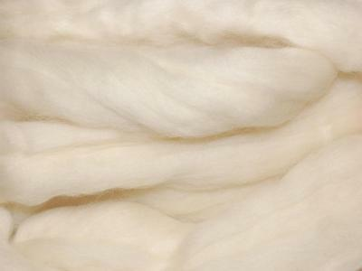 Blonde Merino Wool fibre roving / tops  - 50g - hand spinning  - needle felting