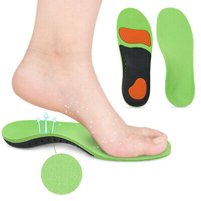 Orthotic Insoles Flat Feet Inserts Shoe High Arch Support For Plantar Fasciitis
