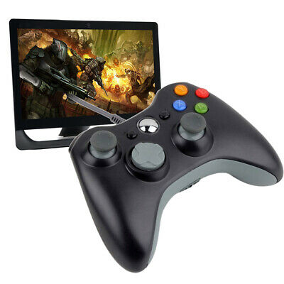 Wired USB Game Pad Joypad Controller for MICROSOFT Xbox 360 Console (Black)