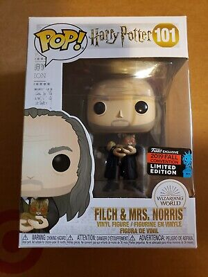 Funko Pop filch & mrs Norris Harry Potter NYCC 2019 fall con exclusive