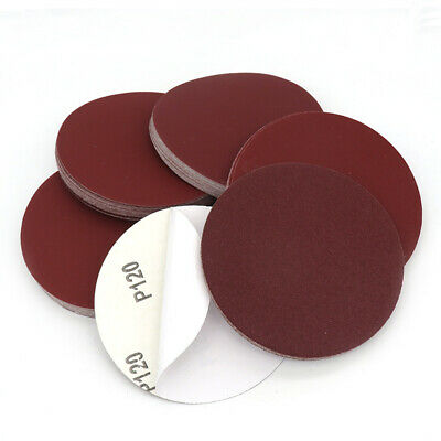 5'' 125mm Self Adhesive Sanding Discs Sticky Backed Sand Paper 60 - 2000 Grit