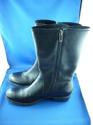 Leather Ankle Boots by Gino Ventori ( Brand New ) Size: 40