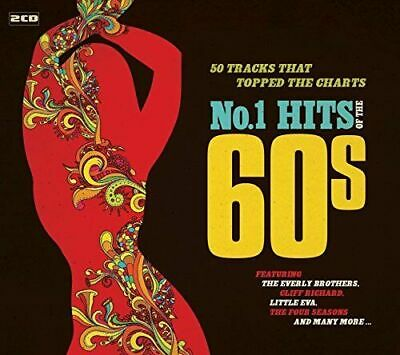No. 1 Hits of the 60s Various Artists 2 CD NEW