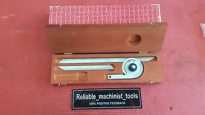 Usa Made Starrett Vernier Protractor C359 ( Machinist Tools)