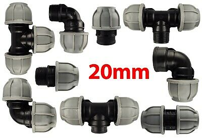20mm mdpe fittings at TRADE PRICES ,elbow,tee,coupler and more!