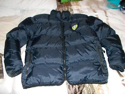 Leeds United Fc F.c.official Original Merchandise Mens Puffa Jacket,Medium Fab!