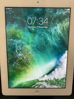 Apple iPad 4th Gen. 128GB, Wi-Fi + Cellular (Vodafone), 9.7in - White