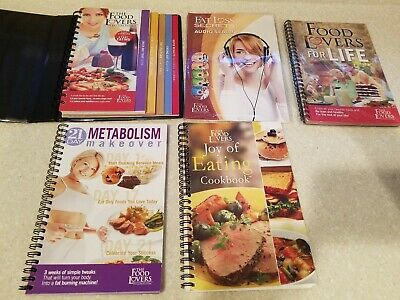 The Food Lovers Fat Loss System Weight Loss Kit, CDs, Cookbooks  Guides