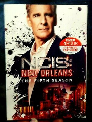 NCIS: New Orleans: The Fifth Season (DVD, 2009, 6 Disc) NEW Sealed