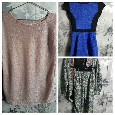 Girls 11-12 Years River Island Bundle X4 Items Dress, Outfit, Stunning Top