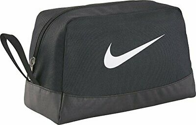 NIKE CLUB TEAM Swoosh Toiletry Bag Kulturbeutel Schwarz 8