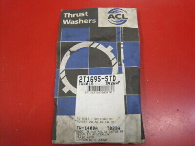 ACL THRUST WASHER SET 2T1695 FITS Toyota 4 4AF//4AGE//4AGZE//7AFE 1980-97