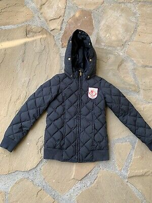 juicy couture Girls Hooded Puffer Jacket  Coat Sz10