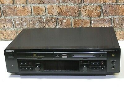 Sony MXD-D3 Twin Deck Hi Fi Separates CD Player + MiniDisc Recorder & Player