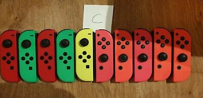 * FAULTY 10, 5 pairs Official Nintendo Switch Joy-Con Controllers FAULTY*