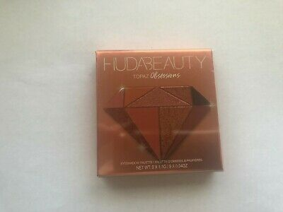 New Huda Beauty Limited Topaz Obsessions Eye Shadow Palette