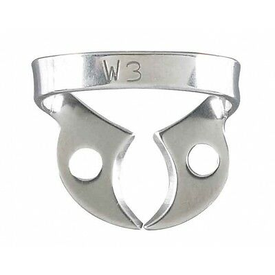 Rubber Dam Clamp #W3 For Lower Molars, NEW   FREE US SHIPPING