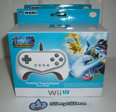 Pokken Tournament Pro Pad - Limited Edition Controller for Nintendo Wii U - NEW!