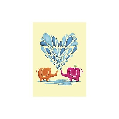 Sweethearts Birthday Greeting Card & Envelope by Tree Free