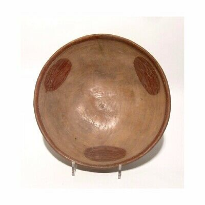 "X Large Pre Columbian Nayarit Shallow Bowl, Dia:12 ½"", c. AD 900-1200 pottery"