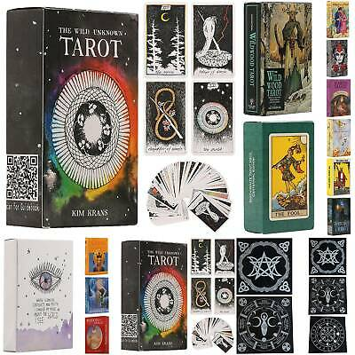 The Wild Unknown Tarot Deck Card Tablecloth Fortune-Telling Card Game Oracle Set