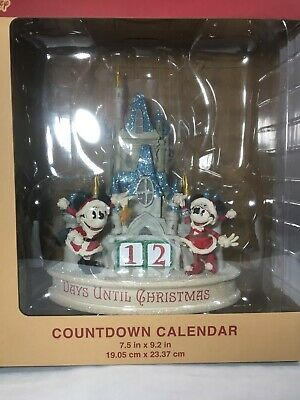 Disney Parks Santa Mickey & Minnie Christmas Countdown Calendar BRAND NEW