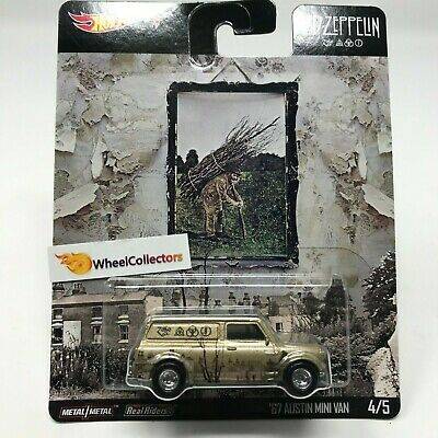'67 Austin Mini Van * 2019 Hot Wheels LED-Zeppelin * Pop Culture E Case