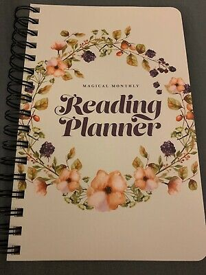 Owlcrate Magical Monthly Reading Planner 2019 Edition NEW