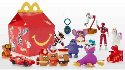 mcdonalds happy meal surprise 40 years of toys you choose your toy