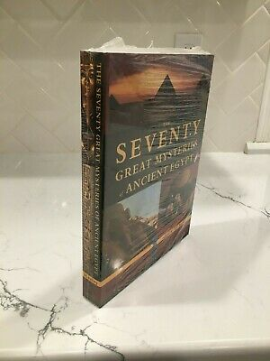 """""""THE SEVENTY GREAT MYSTERIES OF ANCIENT EGYPT"""" edited by Bill Manley"""