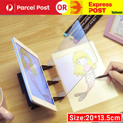 Optical LED Tracing Drawing Board Light Image Copy Pad Art Design Painting Tools