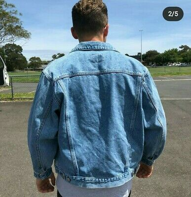 Americanino Vintage Denim Jacket Size S/M Made In Italy
