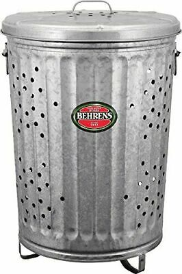 Copper 3 Liter Elaine Karen Deluxe Galvanized Steel Step Foot Pedal Retro Garbage Trash Can