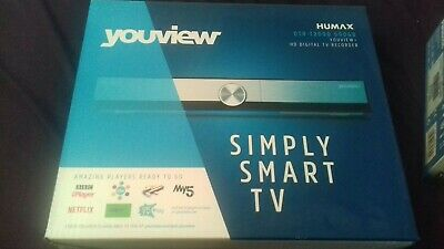 HUMAX DTR-T2000 500GB YouView Receiver HD Digital