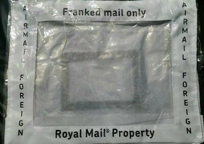 NEW FRANKING.Airmail INTERNATIONAL mail only.   POSTING POUCHES/POST SACK .