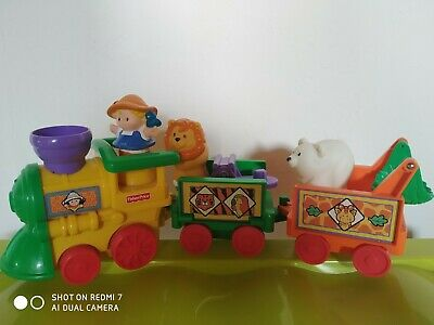 Train musical Animaux Fisher Price. Little people TBE